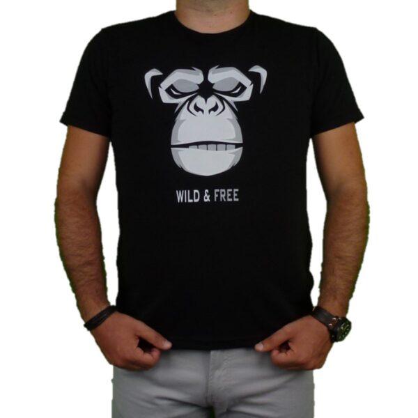 Ανδρικό T-shirt monkey